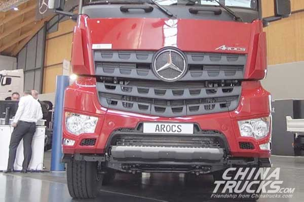 Mercedes-Benz Displays New Trucks at Dhahran Expo
