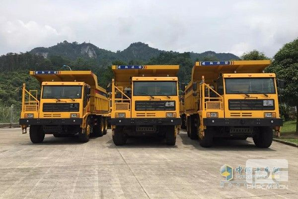 First 10 Mining Trucks with K12 United Power Exported to Vietnam