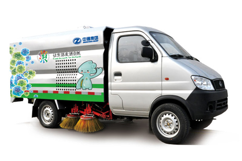 Zhongtong Road Cleaning Sweeper
