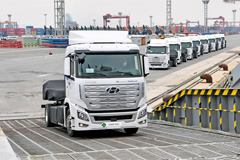 Hyundai Ships First Hydrogen Fuel Cell Heavy Trucks to Switzerland