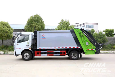 Chengli CLW5090ZYS6 Compress Garage Truck(Dongfeng 8 Cubic Meter)